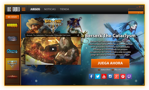 IDC/Games – All your online games for free - MMORPG, MOBA, RTS